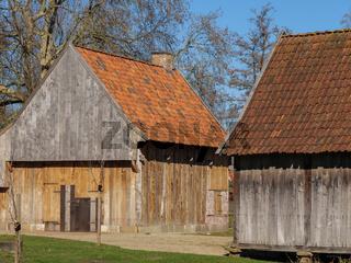 alte häuser in Vreden im Münsterland