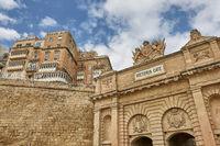 The Victoria Gate in La Valletta, the capital of Malta