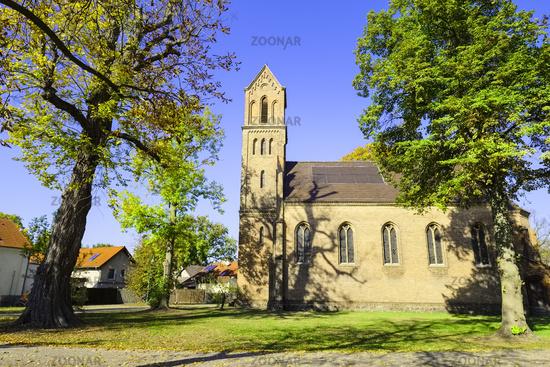 Dorfkirche Kablow, Brandenburg, Deutschland