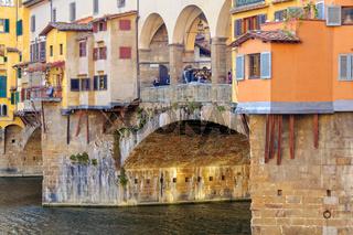 Shops on the Ponte Vecchio - Florence