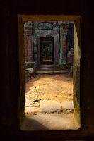 Ancient doorways in Angkor