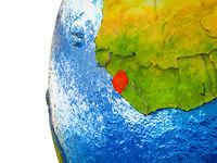 Sierra Leone on 3D Earth
