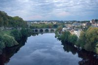 river Vienne and the views of Limoges