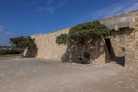 Eingang zum Festung Es Forti