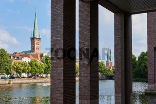 Petrikirche und Dom, Lübeck, Deutschland