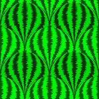 Striped Green Watermelon Background. Natural Berry Seamless Pattern