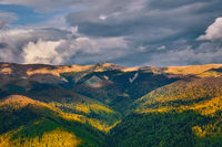 Carpatian Mountains in Romania