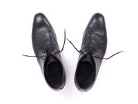 Expensive formal shoes, isolated