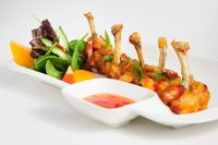 fried chilli chicken wings