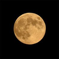 Vollmond, Mond