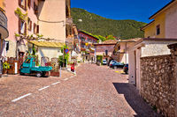 Picturesque Vesio village above Lago di Garda