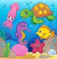 Sea life theme image 1