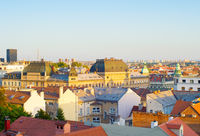Skyline Zagreb Old Town Croatia