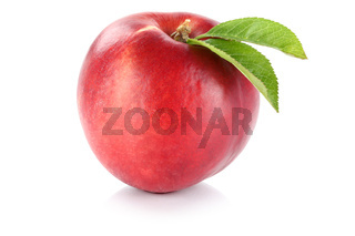 Nektarine Frucht frisch Obst Freisteller freigestellt isoliert