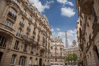 Housing in Paris near Eiffel Tower