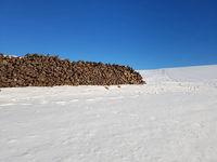 Holzstapel, Brennholz