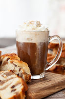 Tasse heisse Schokolade / Kaffee