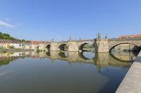 River Main with old Main bridge