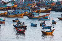 Fishing boats in Vietnam