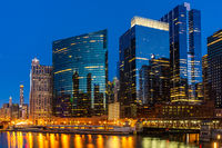 Chicago Skylines Wolf Point