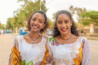university students on Mekele street