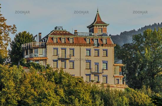 Burg Rheineck, Kanton St. Gallen, Schweiz