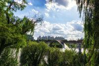 seonyudo bridge viewed from park