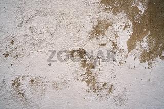 alte abblätternde Farbe an einer Fassade