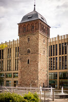 Red Tower of Chemnitz in Saxony