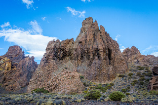 The Cathedral rock, Teide, Tenerife