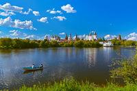 Izmailovo Kremlin and lake - Moscow Russian