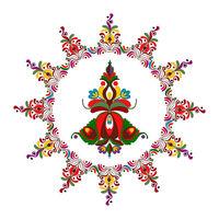 Hungarian folk motif 2