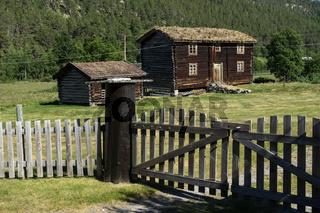 Bauernhaus im Rondane Nationalpark