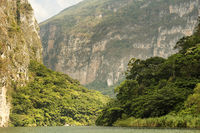 River In Sumidero Canyon Mexico