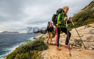 People in hike