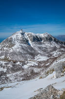 Shtirovnik peak with communication towers