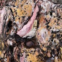 Gesteinsoberfläche - Ligurien - Italien