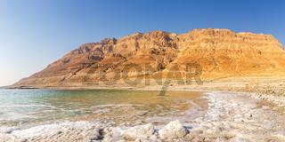 Dead Sea Panorama Israel copyspace copy space landscape nature
