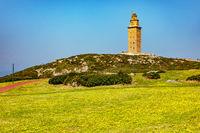 Tower of Hercules in A Coruna
