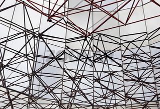 Dachkonstruktion gespiegelt