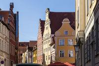 Altstadt Stralsund, Deutschland, old town of Stralsund, Germany