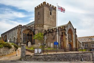 St Michael the Archangel Church. Lyme Regis. West Dorset. England
