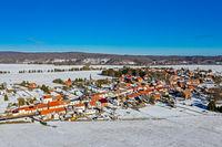 Luftbildaufnahme von Siptenfelde im Harz