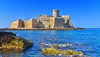 The castle in the Isola di Capo Rizzuto in the Province of Crotone