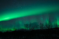 Aurora borealis northern lights in Norway