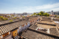 Bukchon Hanok Village in South Korea