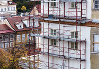 building facade renovation, repair