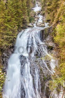 Huge Waterfall in  South Tyrol