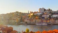 Skyline  Porto Old Town, Portugal