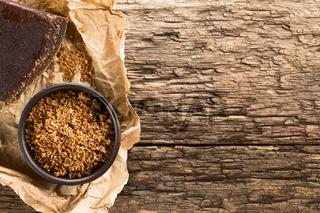Grated Raw Unrefined Cane Sugar